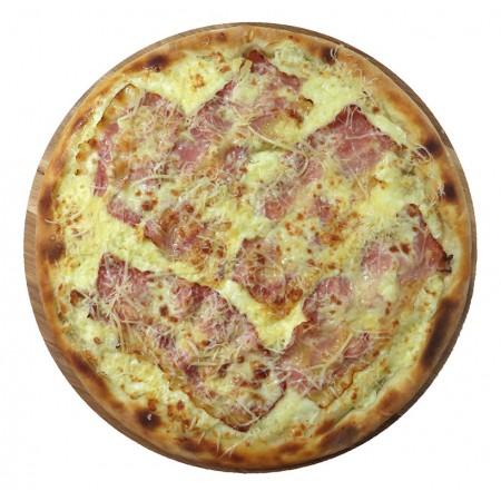 Пицца Карбонара 33см (630гр)