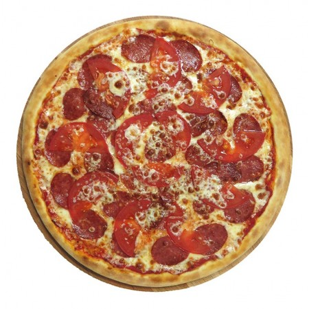 Пицца Салями 33см (605гр)