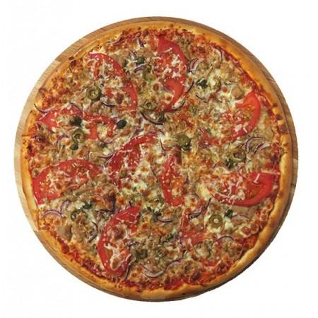 Пицца Тонно э чиппола 33см (640гр)